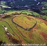 Caer Drewyn Hill Fort, 1 m NE of Corwen, WPT 126, North Wales