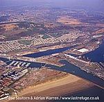 Swansea Harbour, South Wales