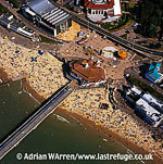 Bournemouth Pier and Beach Scene, Bournemouth, Dorset