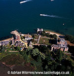 Branksea Castle, Brownsea Island, Poole Harbour, Dorset