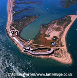 Hurst Castle, West Solent, Hampshire: a Device fort built by Hentry VIII, England