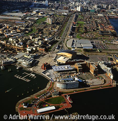 Cardiff bay, cardiff, South Wales