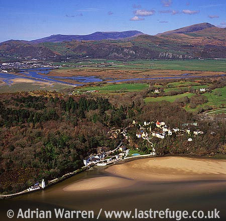 Portmeirion, It has served as a location for many films and television shows, notably The Prisoner, North Wales