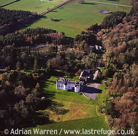 Picton Castle, 3.5 m SE of Haverfordwest, 2 m S of A40. Extensively refurbished and inhabited., South Wales