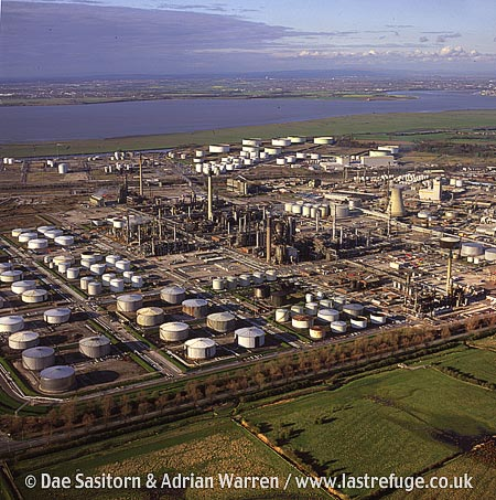 Oil Refinery, Milford Haven, South Wales