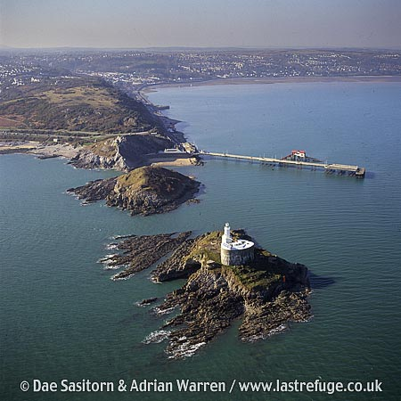 Mumbles Head, The Mumbles, Gower, South Wales