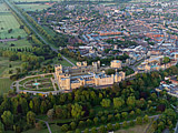 Windsor Castle, Windsor, Berkshire, England - the largest inhabited castle in the world