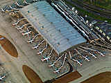 Terminal 5 Main Terminal Building 5A, London Heathrow International Airport, Hayes, Middlesex, June 2010