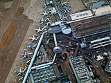 Terminal 1, London Heathrow International Airport, Hayes, Middlesex, June 2010