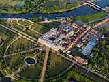 Hampton Court Palace, a royal palace in the London Borough of Richmond upon Thames in south west London