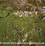 Gearrannan Blackhouse Village, West Side of the Isle of Lewis, Outer Hebrides, West Coast Scotland