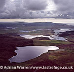 from Loch of Aithsness looking west, near Braewick, Shetland Islands, Scotland