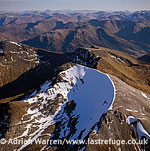 Carn Mor Dearg, west of Scotland, near Fort William, in Lochaber, Highland, Scotland