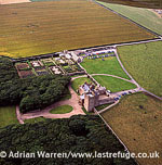 The Castle of Mey (Barrogill Castle), Caithness, on the north coast of Scotland, Highlands, Scotland