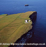 Copinsay Lighthouse, near Copinsay, Orkney Islands, Scotland