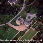 Crathes Castle, a 16th century castle, near Banchory, Aberdeenshire, Scotland