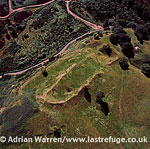 Finavon Hill Fort, Vitrified Fort in Scotland in Angus