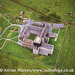 St Mary's Abbey, Iona, Inner Hebrides, West Coast Scotland