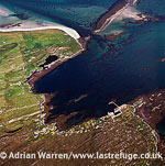 Backhill, Brusta and Rushgary; Isle of Berneray, Outer Hebrides, West Coast Scotland