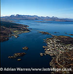 Bridge to Isle of Skye at Kyle of Lochalsh, Scotland , Inner Hebrides, West Coast Scotland
