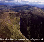 The Ladder Hills, a ridge of rolling uplands with broad summits, in The Cairngorms National Park - Scotland