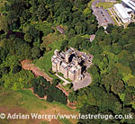 Lews Castle, a Victorian castle, near Stornoway, Isle of Lewis, Scotland