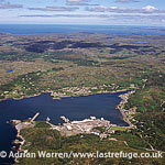 Lochinver, a village on the coast in the Assynt district of Sutherland,, Highlands, Scotland