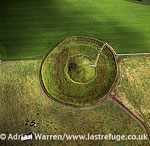 Maeshowe (or Maes Howe), a Neolithic chambered cairn and passage grave on mainland Orkney, Orkney Islands, Scotland