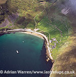 Village Bay, Hirta, St Kilda, west-northwest of North Uist, Outer Hebrides, West Coast Scotland