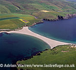 St Ninians Tombola, connects St Ninian's Isle to Shetland Mainland, Shetland Islands, Scotland