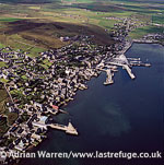 Stromness, the second-largest town and a seaport, Orkney Islands, Scotland