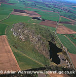 Traprain Law Hill Fort, east of Haddington in East Lothian, Lowlands, Scotland