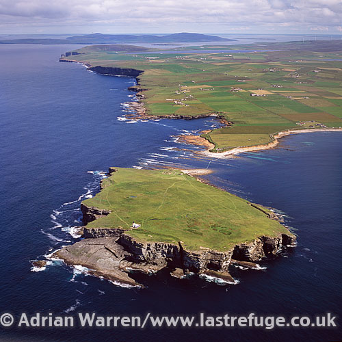 Birsay, parish in the north west corner of The Mainland of Orkney, Orkney Islands, Scotland