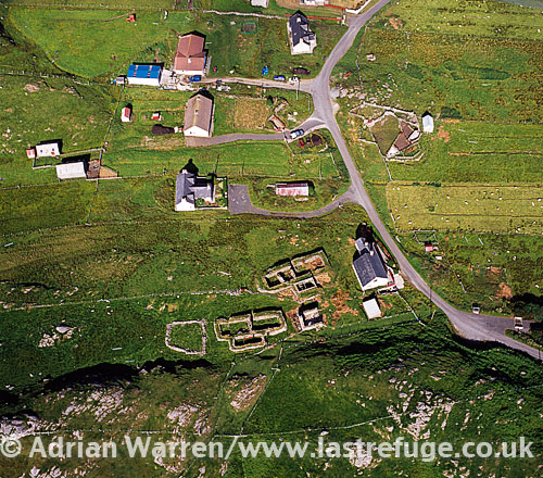 Carloway, on the west coast of the Isle of Lewis, Outer Hebrides, West Coast Scotland