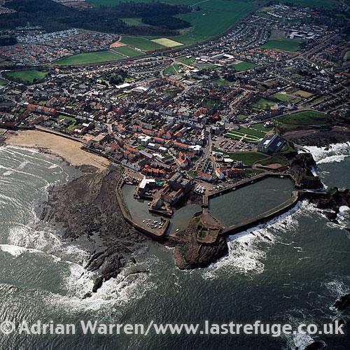 ... image search: Dunbar, East Lothian, on the southeast coast of Scotland
