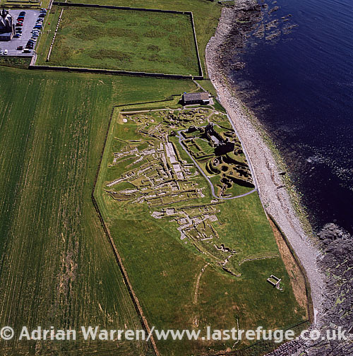 Jarlshof, prehistoric archaeological site, southern tip of the Shetland Mainland, Shetland Islands, Scotland
