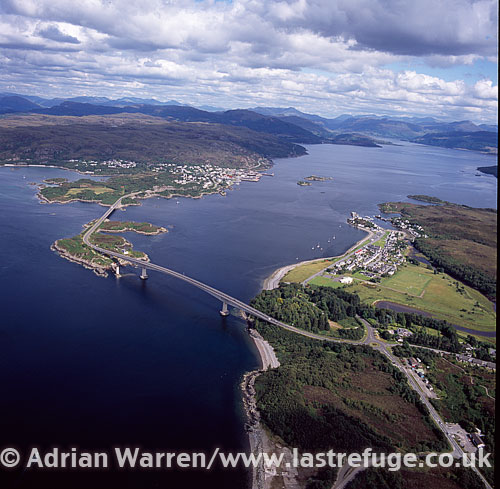 Skye Bridge from Isle of Skye to Kyle of Lochalsh, Highlands, Scotland