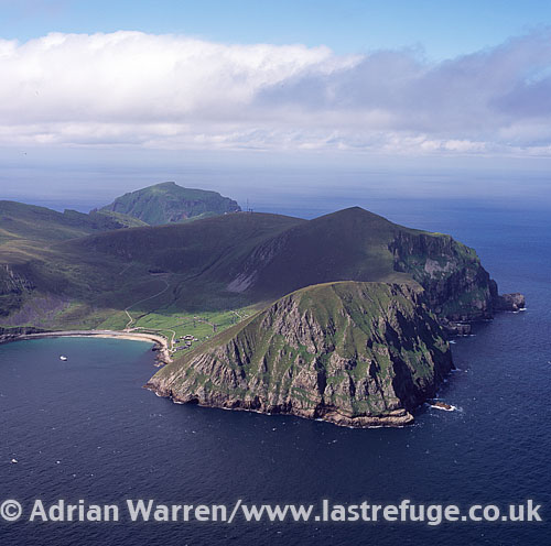 St Kilda, an isolated archipelago 64?km. west-northwest of North Uist, Outer Hebrides, West Coast Scotland