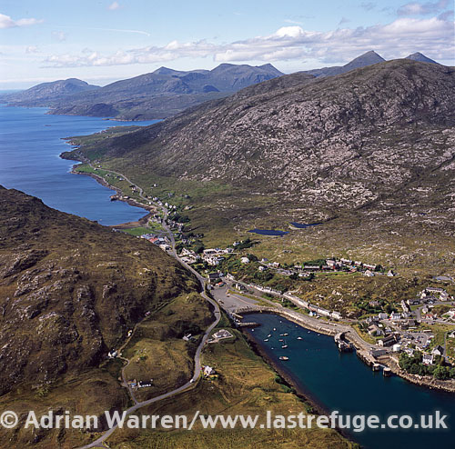 Talbert (where South Harris joined to Isle of Lewis), Outer Hebrides, West Coast Scotland