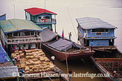Cargo River Boat, Mekong River, Luang Prabang, Laos