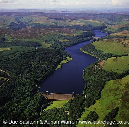 Derwent Reservoir, Peak District, Derbyshire, England