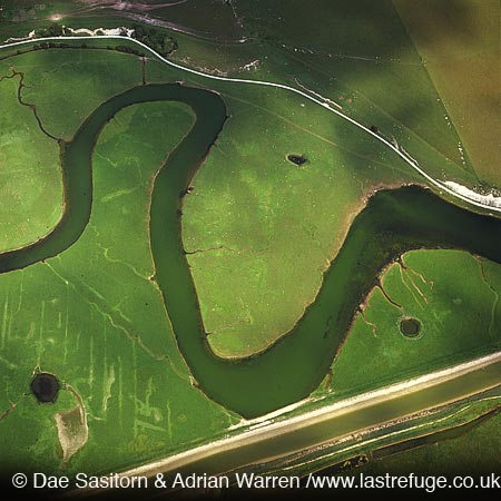 River Cuckmere, near Seven Sisters, East Sussex, England