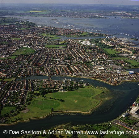 Gosport, Portsmouth harbour, Hampshire, England