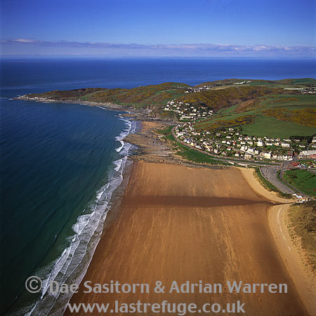 Woolacombe, and Morte Bay, North Devon, England