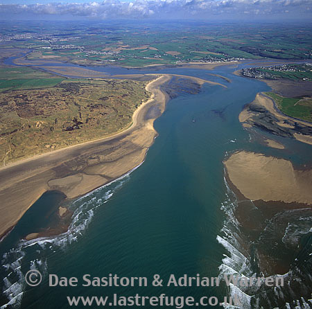 Estuary of River Taw and River Torridge, North Devon, England