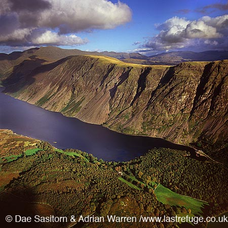 Wast Water, Lake District National Park, Cumbria, England