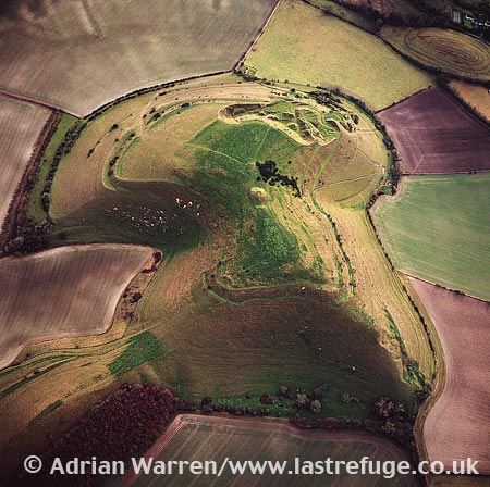 Cley Hill (hill fort), wiltshire, England
