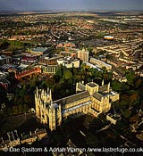 Peterborough Cathedral, Cambridgeshire, England