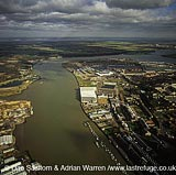 The Medway Estuary, Chatham, Kent, England