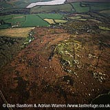 Earthworks near Chysauster, Cornwall, England